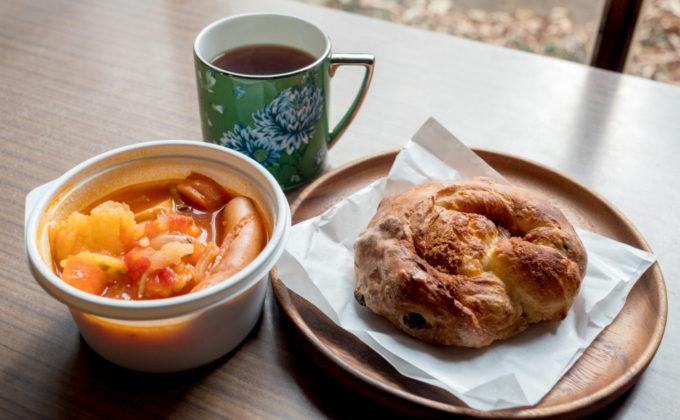 【今日のごはん】Soupshop グッドオールドの優しいスープとパン