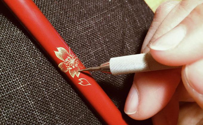 【要予約】沈金で自分だけのお箸を作ろう!漆芸家・大西未穂さんの「沈金ワークショップ」