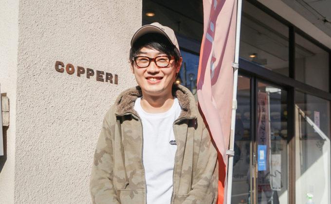 コッペパンをきっかけに、みんなに笑顔を届ける|COPPERI結城店・山崎久也さん
